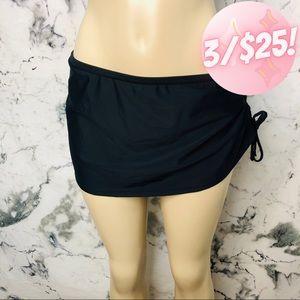 💖3/$25💖 Kalia Bathing Suit Bottoms Skirt Black